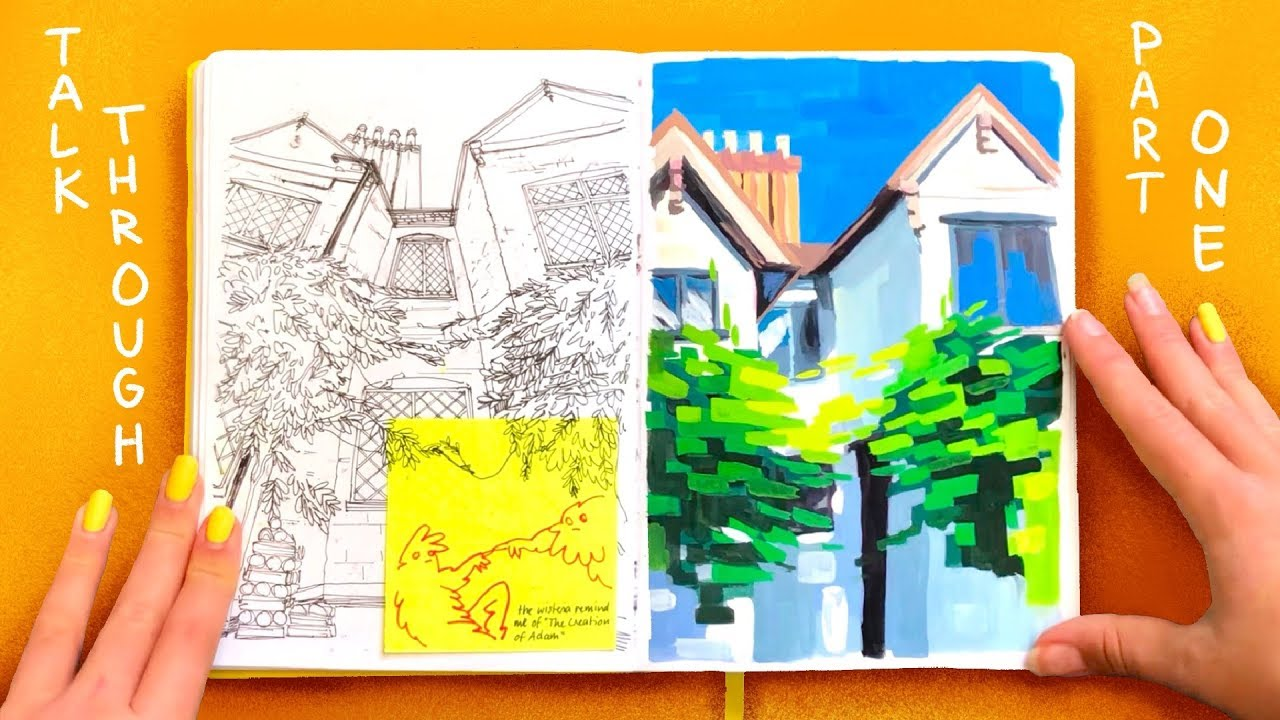 Download Talking Through My ACCEPTED Calarts Sketchbooks // PART 1