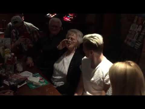Matt Kean and his Grandma