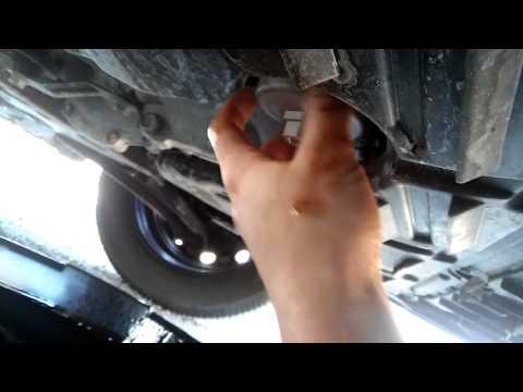 Замена масла и фильтра Nissan Sentra