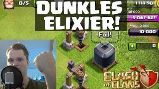 [facecam] Clash of Clans || VIEL DUNKLES ELIXIER! || Let's Play Clash of Clans [Deutsch/German HD]