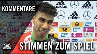 Die Stimmen zum Spiel (Hamburg Panthers - FC Liria, Finale, Deutsche Futsal-Meisterschaft 2016)