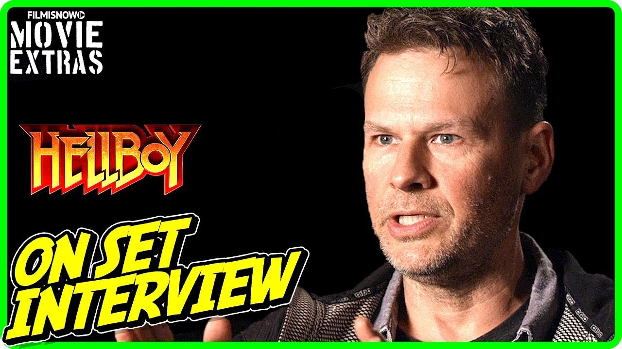HELLBOY | On-set Interview with Joel Harlow