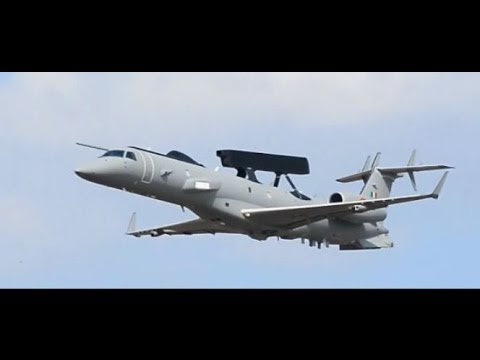 Indian Air Force Embraer ERJ-145 Takeoff And Landing Full HD