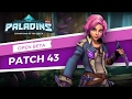 PALADINS NEw Patch OB43  MAEVE of BLADES Feb 2017