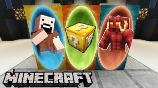 PORTALE DO: NOTCH, LUCKY BLOCK, DEMON - Minecraft