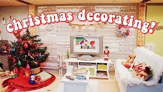 decorating-for-christmas-unboxing-all-my-ag-christmas-decor-decorating-my-dollhouse