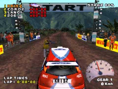 PS1 V-Rally 2 - Championship Expert Full