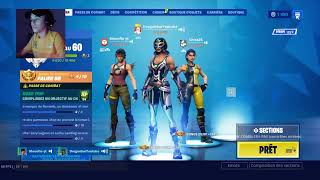 🔴| LIVE FORTNITE DU SOIR MAXX DE TOP 1 + 1000 V-BUCKS A GAGNER !skin| Ft.Tibig [CAM]