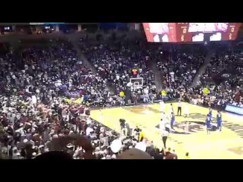 Sandstorm Before Tip-off Of Kentucky Basketball At South Carolina