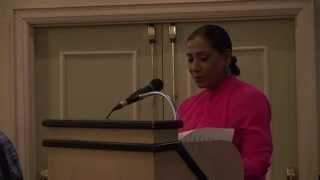 Donna Cardoza at Juanita Nathan- election kickoff Event