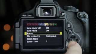 Canon T3i 600D installing Magic Lantern - (Part1)
