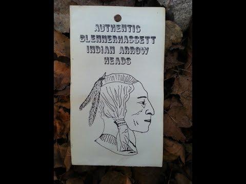 Blennerhassett Island Indian Arrowhead West Virginia Treasure
