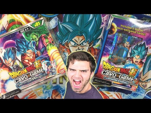 INSANE Dragon Ball Super Awakening Starter Deck & Galactic Battle Box Opening! Special Rare?!!