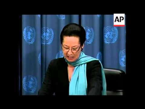 UN presser on aid operations, Rights Commissioner