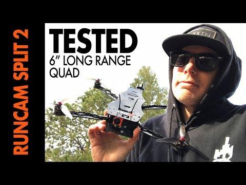 """Runcam Split 2 - TESTED on a 6"""" Long Range Quad - EPIC RESULTS"""