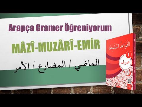 Sarf 1. Ders Mazi ve Muzari Fiiller (Sarf Dersi) Abdulhakim Önel