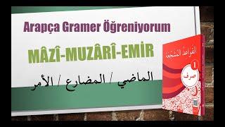 Sarf-1- Arapçada Fiil Çeşitleri (Mazi-Muzari-Emir) - 5. Konu / أنواع الأفعال