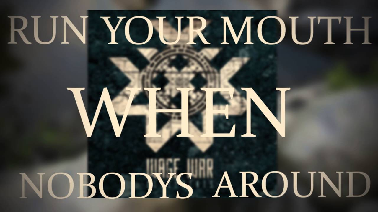 Wage war hollow lyric video youtube wage war hollow lyric video malvernweather Choice Image
