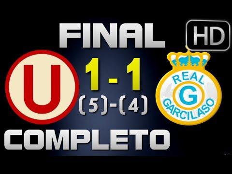 Universitario vs Real Garcilaso | Partido Completo 18-12-2013 | Final Copa Movistar 2013
