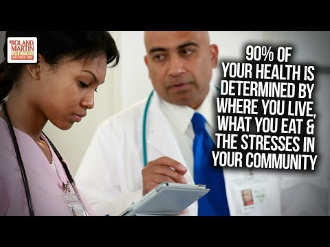 90% Of Your Health Is Determined By Where You Live, What You Eat & The Stresses In Your Community thumbnail