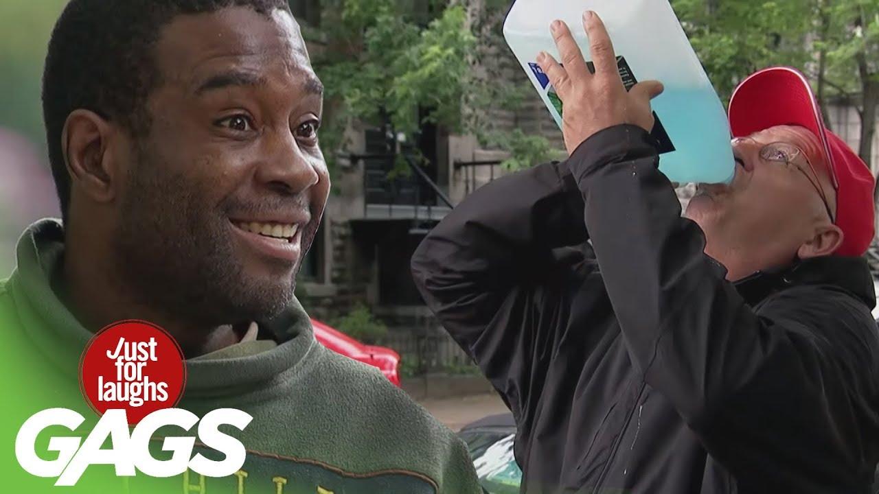 Man DRINKS Windshield Washer Fluid   Throwback Thursday
