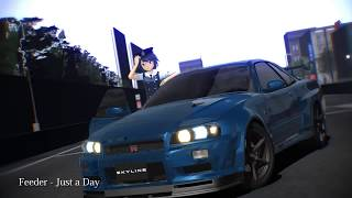 【MikuMikuDance】Nissan Skyline GT-R VspecⅡ Nür BNR34【DOWNLOAD】