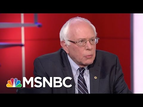 Bernie Sanders Draws Distinction On Gay Rights | Rachel Maddow | MSNBC