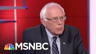 Bernie Sanders Draws Distinction On Gay Rights | Rachel Maddow | MSNBC