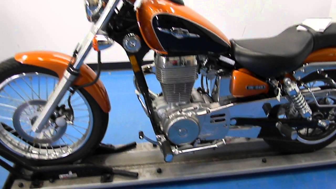 2012 suzuki s40 boulevard orange used motorcycle for sale eden prairie mn