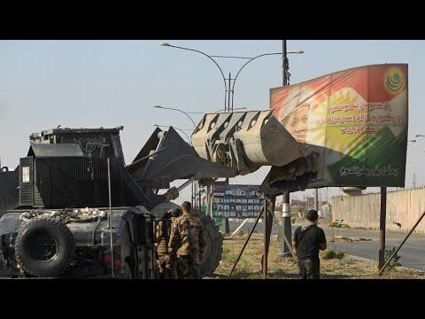 القوات العراقية تواصل سيطرتها على محافظة كركوك وترامب يعلن عدم انحيازه لأي طرف  - نشر قبل 16 دقيقة