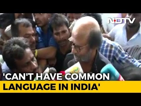 """No Language Can Be Imposed"": Rajinikanth After Amit Shah's Hindi Remark"