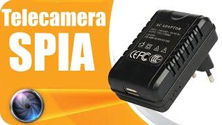 Telecamera nascosta Spy camera - telecamera Spia HD 128GB adattatore caricatore con videocamera