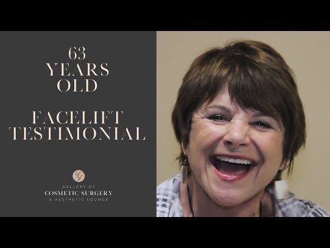 Amazing 70 yr Old Female Facelift Testimonial and Before and After Images