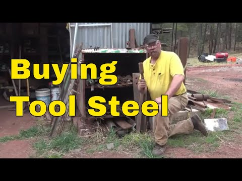 Sourcing and finding tool steels for blacksmithing by searching the internet.