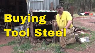 connectYoutube - Sourcing and finding tool steels for blacksmithing by searching the internet.
