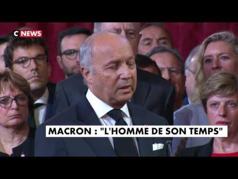 Laurent Fabius invité de Jean-Pierre Elkabbach