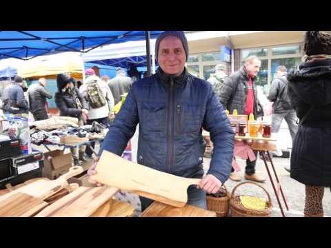 Flea market in Cracow - Hala Targowa