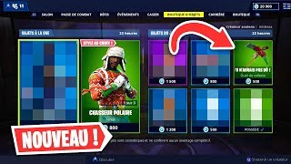 BACK SKINS! FORTNITE BOUTIQUE of December 9, 2018! (ITEM SHOP)