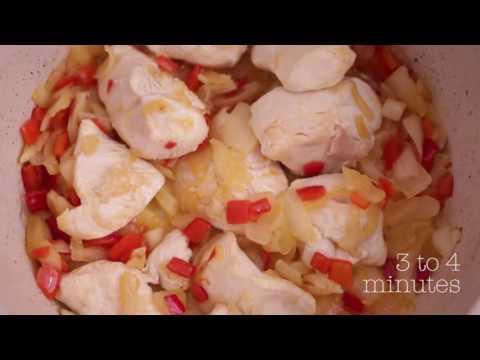 Annabel's Chicken with Summer Vegetables