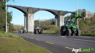 AgriLand spots this convoy...to launch the Kilbrittain Tractor Run (2019) in Co. Cork