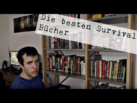 Survival Bushcraft Bücher, Buchempfehlung Tipps, Überlebenstraining Wildnis,meine Bücher (4K)