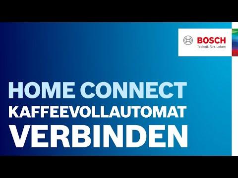 Bosch Kaffeevollautomat Einbau bosch kaffeevollautomat mit home connect funktion verbinden