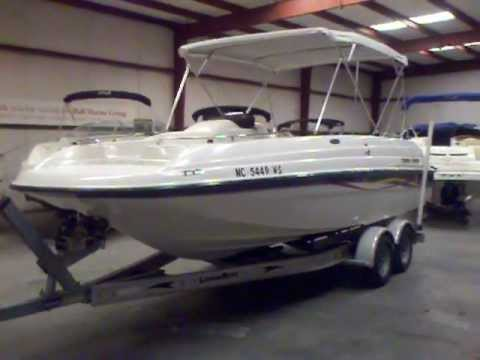 2001 Bayliner 21 Deck Boat Used Boat For Sale In Charlotte Nc At Lake Wylie Marina