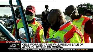 Minister Cele worries crime wi…