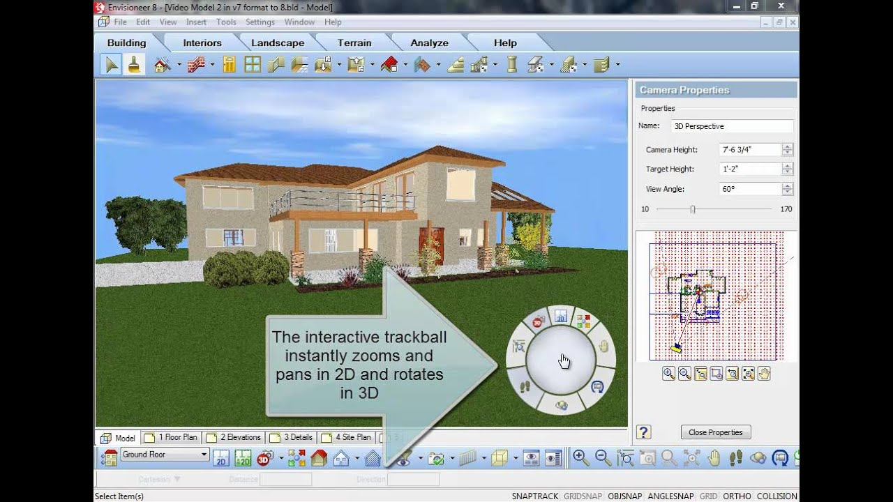 Envisioneer v8 navigator youtube House designing software for pc