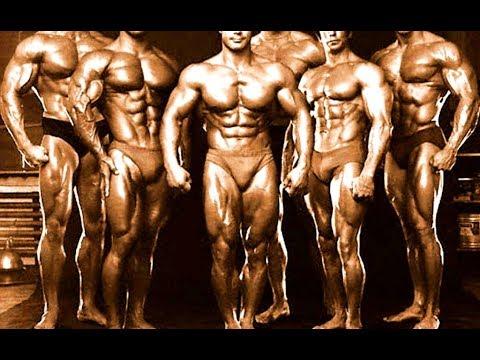 Самые красивые тела всех времён. Золотая эпоха бодибилдинга. TOP 16