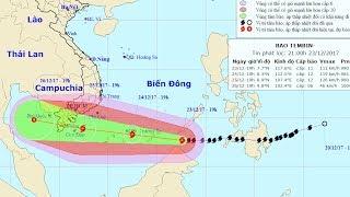 Tin Bão Mới Nhất: Cập Nhật Tin bão gần Biển Đông (cơn bão Tembin)