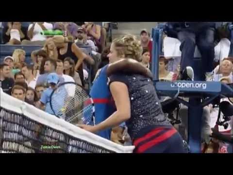 Kim Clijsters vs Victoria Duval 2012 US Open Highlights