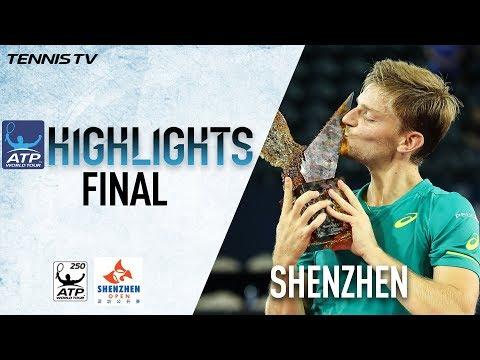 Highlights: Goffin Beats Dolgopolov In Shenzhen 2017