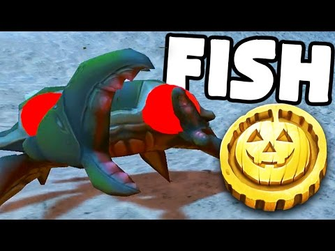 Fish Feed And Grow Halloween Challenge - GOLD MEDAL CANDY COLLECTING